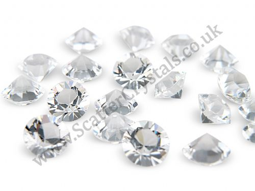Pk 100 Swarovski Unfoiled Table Crystals, Style 1088, SS29 (6.2mm), Crystal